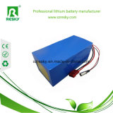 Bloco recarregável da bateria de LiFePO4 12V 50ah para a luz de rua solar