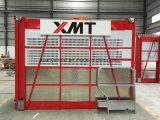 Machines d'ingénierie de construction des passagers Sc200/200 et des matériaux