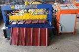 La feuille ridée par toiture en acier galvanisée laminent à froid former le roulis de fabrication de machine formant la machine utilisée pour la toiture ondulée