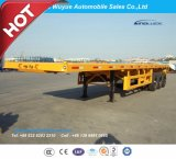 Axle 3 трейлер тележки 12.5 m планшетный Semi с посадочным устройством Jost