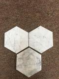 飲み物のコースターの/Marbleの飲み物のコースターの/Hexaの形のDrinikの石造りのコースターか石のコースター