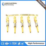 Gold-Plated 단말기 죔쇠 철사 하네스 플러그는 66601-1를 접촉한다