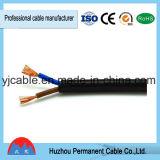Cavo piano flessibile di rame del PVC del cavo del fodero 300/500V di rv Rvv
