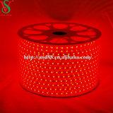 Indicatore luminoso di striscia flessibile rosso di SMD5050 LED