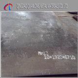 Plaque en acier trempé de haute résistance d'acier de manganèse de la plaque Mn13