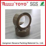 No hay ruido transparente cinta adhesiva transparente y Brown Tan BOPP acrílico y con la marca de sellado de OPP Caja de cinta de embalaje