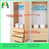 Мебель шкафа спальни доски частицы MDF меламина дешевая
