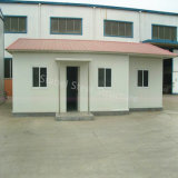 Helle Stahlkonstruktion und vorfabriziertes Wohnhaus mit niedrigen Kosten