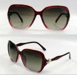 Gafas de sol plásticas de la manera del diseñador a estrenar para las mujeres/señora