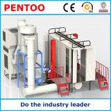 Cabina automatica Pulito-Facile del rivestimento della polvere di alta qualità per i pezzi in lavorazione complessi