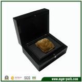 Caixa de relógio de madeira luxuosa da alta qualidade