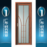 Porta interior da porta de alumínio da casa do Casement com o painel de vidro decorativo