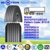 Boto 385/55r22.5 Truck Tyre, Lang-schleppen Steer Trailer Tyre