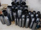 Concentrische Reductiemiddel van de Montage van de Pijp van de Plaat van het staal het uiteinde-Lassend (Cs)