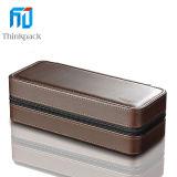 Alta calidad de cuero caja de reloj con cremallera