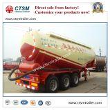 73cbm massa de cimento / carvão em pó tanque petroleiro Semi-reboque