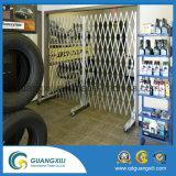 Portes extensibles portatives robustes en acier robuste avec roulettes