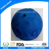 Caoutchouc bleu de chien Byoy formation boule