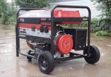 5kw/5kVA generador eléctrico eléctrico de la gasolina de la energía 220/380V con Ce