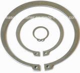 Grampo de retenção do aço inoxidável/anel de retenção (DIN471/DIN472/DIN6799)
