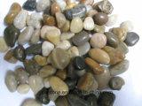 Pedra Polished do seixo para a decoração