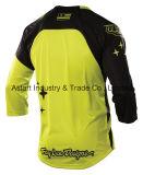 Износ спортов Motorcross желтой новой конструкции задействуя участвуя в гонке Джерси (MAT57)