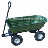 頑丈な庭のトレーラー、実用的なダンプのツールのカート(TC2145)