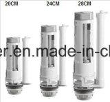 Válvula de drenaje de plástico Válvula de llenado y válvula de salida Pumb Dual Flush 3 Inch
