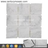 De beeldhouw Witte 100X100mm Grote Vierkante Tegel van de Vloer van het Mozaïek