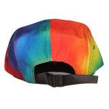 Kundenspezifischer bunter Panel-Hut des Gleichheit-Farben-Veloursleder-Rand-5