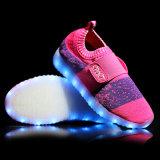 Los Sek venden al por mayor a cabritos que la zapatilla de deporte de la simulación enciende para arriba los zapatos del LED con la luz para los niños