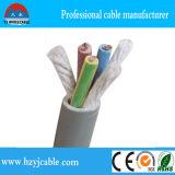 Câble isolé flexible H05V-K 2.5 mm2 d'alimentation électrique d'escompte