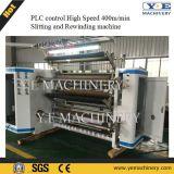 Wenzhou PLC-Steueraufschlitzende Rückspulenpapiermaschine