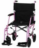 Fauteuil roulant en aluminium léger de transport de soins (1122)