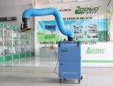 Extrator portátil das emanações de soldadura do fluxo de ar elevado com os um ou dois braços de sugação