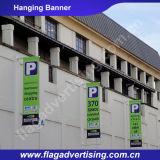 Hohe Helligkeits-kundenspezifisches Gewebe-hängende Markierungsfahnen und Fahnen