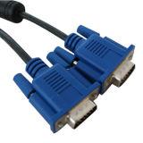 VGA caliente Cable de Sale con Nickel Plated Connector, Male a Male