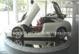 전시 플래트홈을%s 자동적인 자전 차 턴테이블