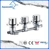 Faucet do chuveiro do banho da válvula termostática da montagem da parede do banheiro (AF5205-7)