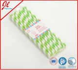 Últimas PVC Box Pack Party Paper Drinking Straw Party Decorações