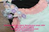 Testo fisso di nylon del merletto del reggiseno della decorazione meravigliosa del merletto