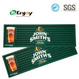 Corredor macio da barra da esteira de gotejamento da barra da cerveja do PVC do logotipo feito sob encomenda