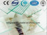 3 tot 8mm Patterned/Figured/Rolled/Embossed/Knurling Glass met Ce, ISO