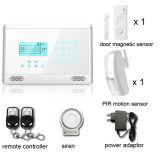 Беспроволочный сигнал тревоги домашней обеспеченностью GSM взломщика с экраном касания