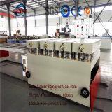 Linha de produção de mármore decorativa da folha do PVC WPC