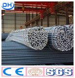 Warmgewalste Misvormde Rebar Met grote trekspanning van het Staal van China Tangshan