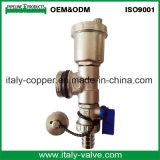 L'ottone di vendita caldo del Ce ha forgiato le valvole a sfera del cunicolo di ventilazione (IC-3075)
