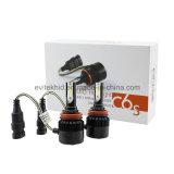 自動ランプの置換のための30W 3200lm H8/H9/H11の穂軸C6s LEDのヘッドライト3000k/6500k
