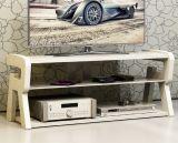 خشبيّة وزجاج تلفزيون حامل قفص ([د601])