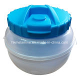 Casella di pranzo di plastica con il cucchiaio (BW260)